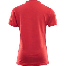 Aclima Junior LightWool T-Shirt High Risk Red